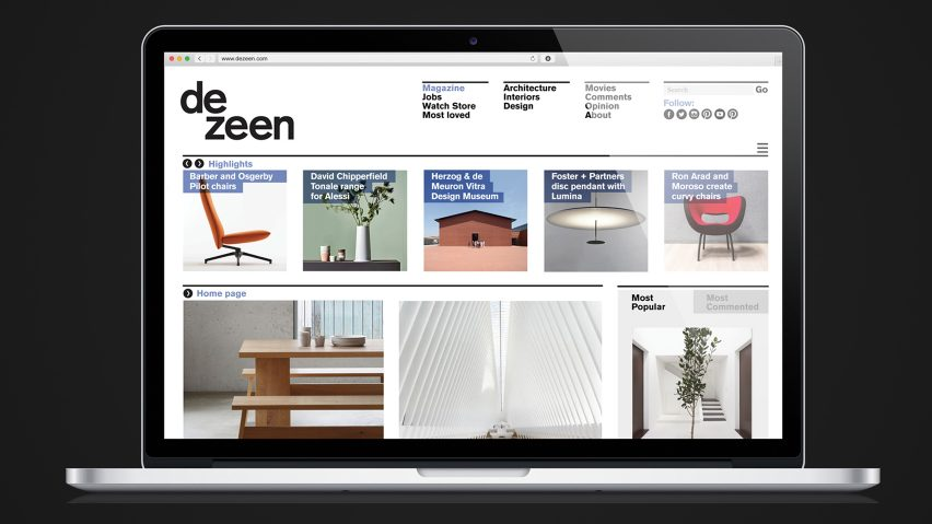 Dezeen editor Amy Frearson highly commended at magazine awards