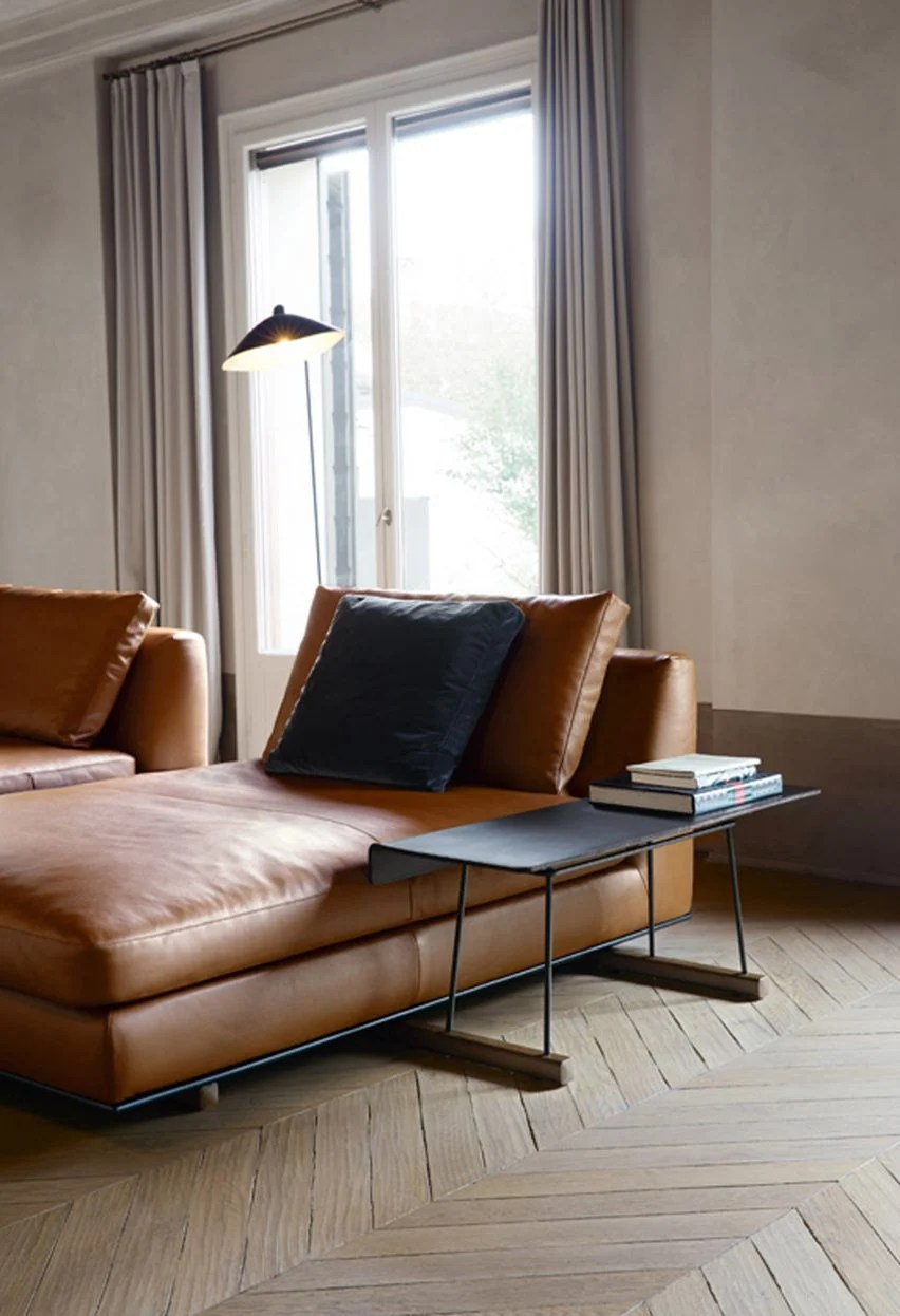 Walter Knoll Sofa Walter Knoll To Present Sofa With Integrated Accessories At Milan