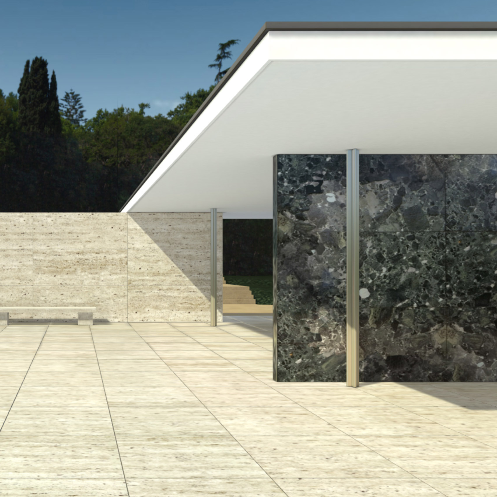 Cl3ver Launches Virtual Reality Tour Of Mies Van Der Rohe S Barcelona Pavilion