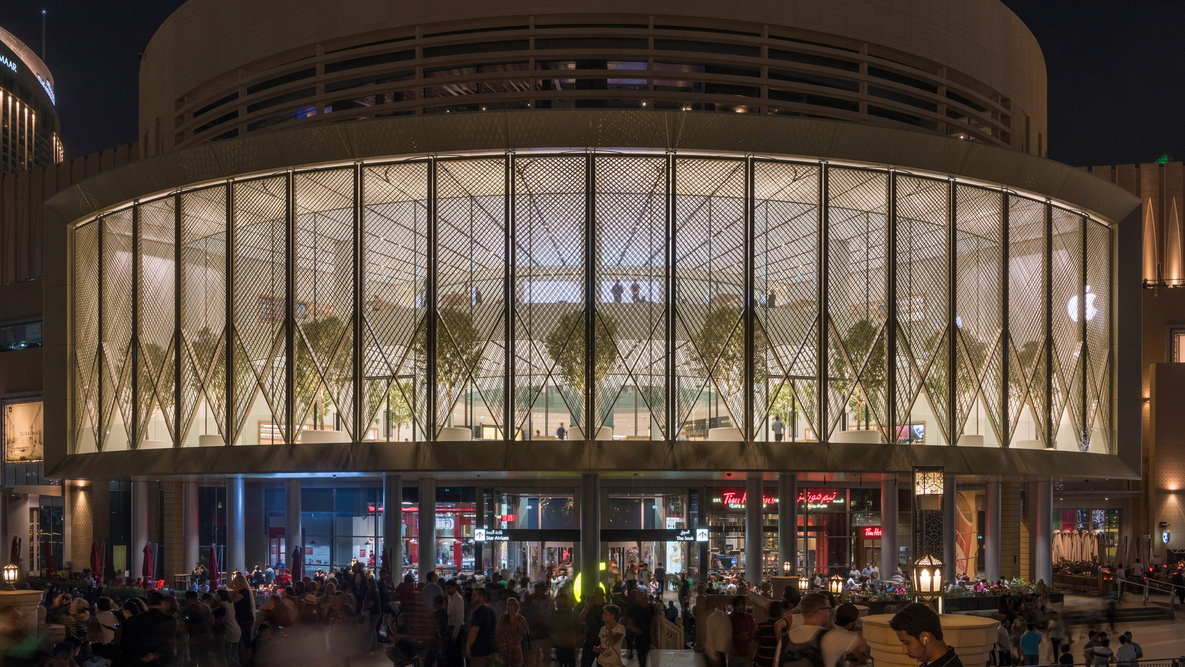 Lampen Store Foster Partners Completes Dubai Apple Store With Carbon Fibre