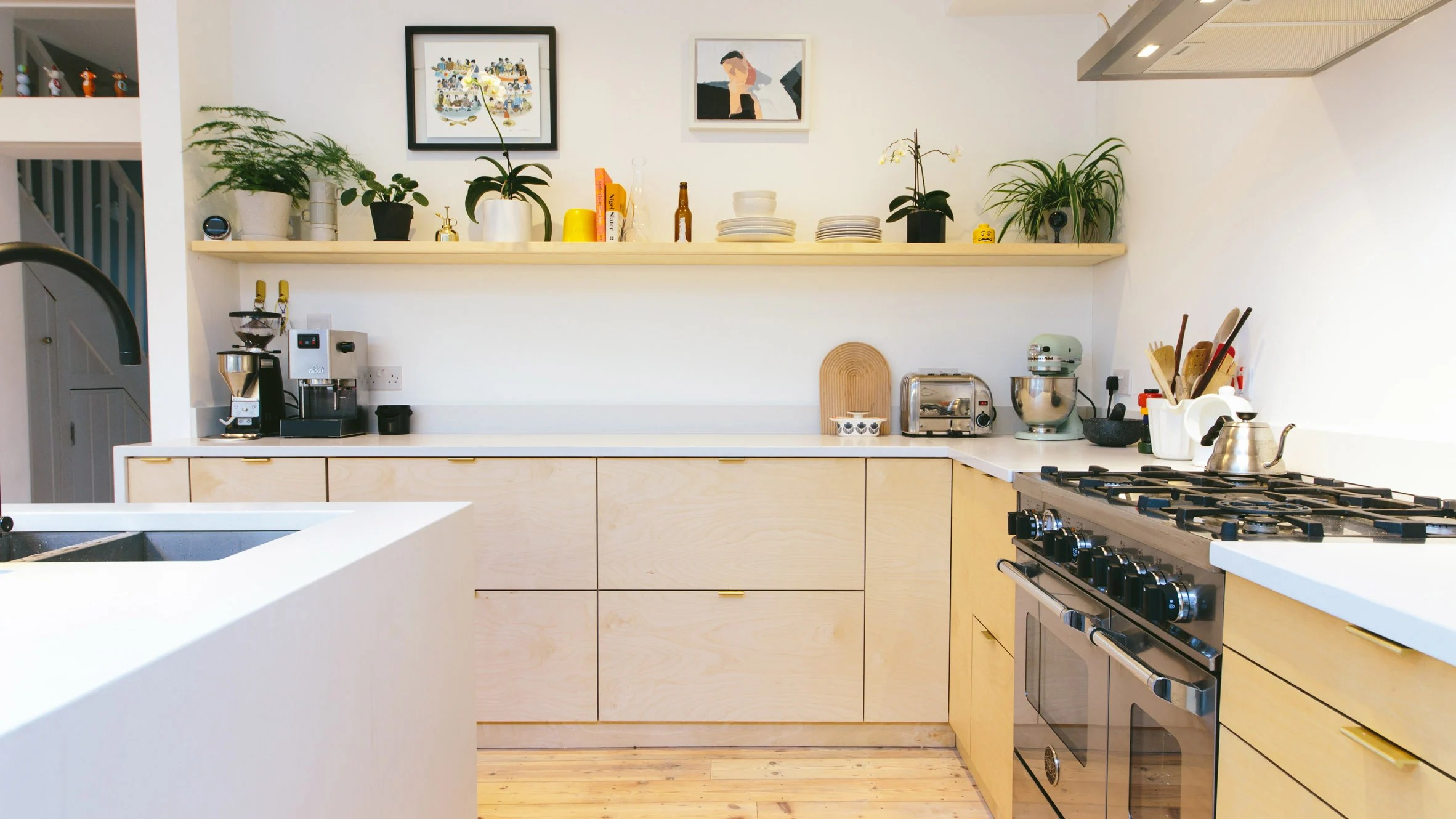 Ikea Küche Design Fronten Plykea Hacks Ikea S Metod Kitchens With Plywood Fronts