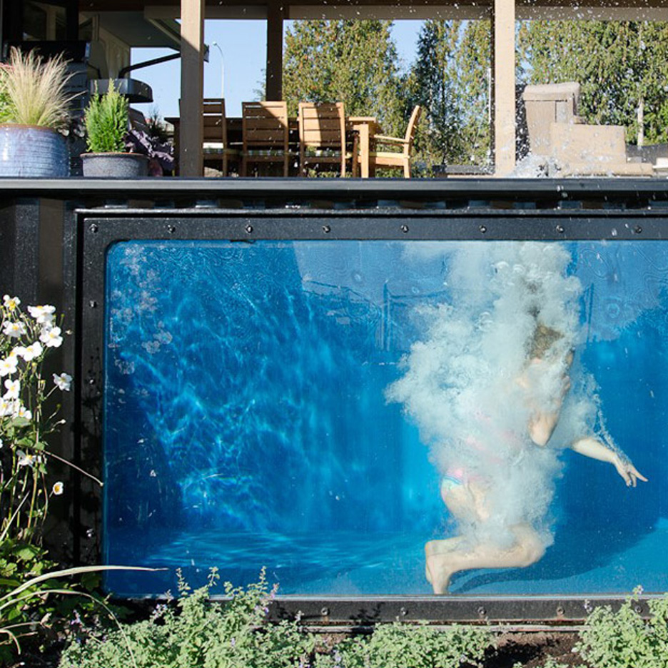 Jacuzzi Pool India Modpools Repurposes Used Shipping Containers As Swimming Pools And