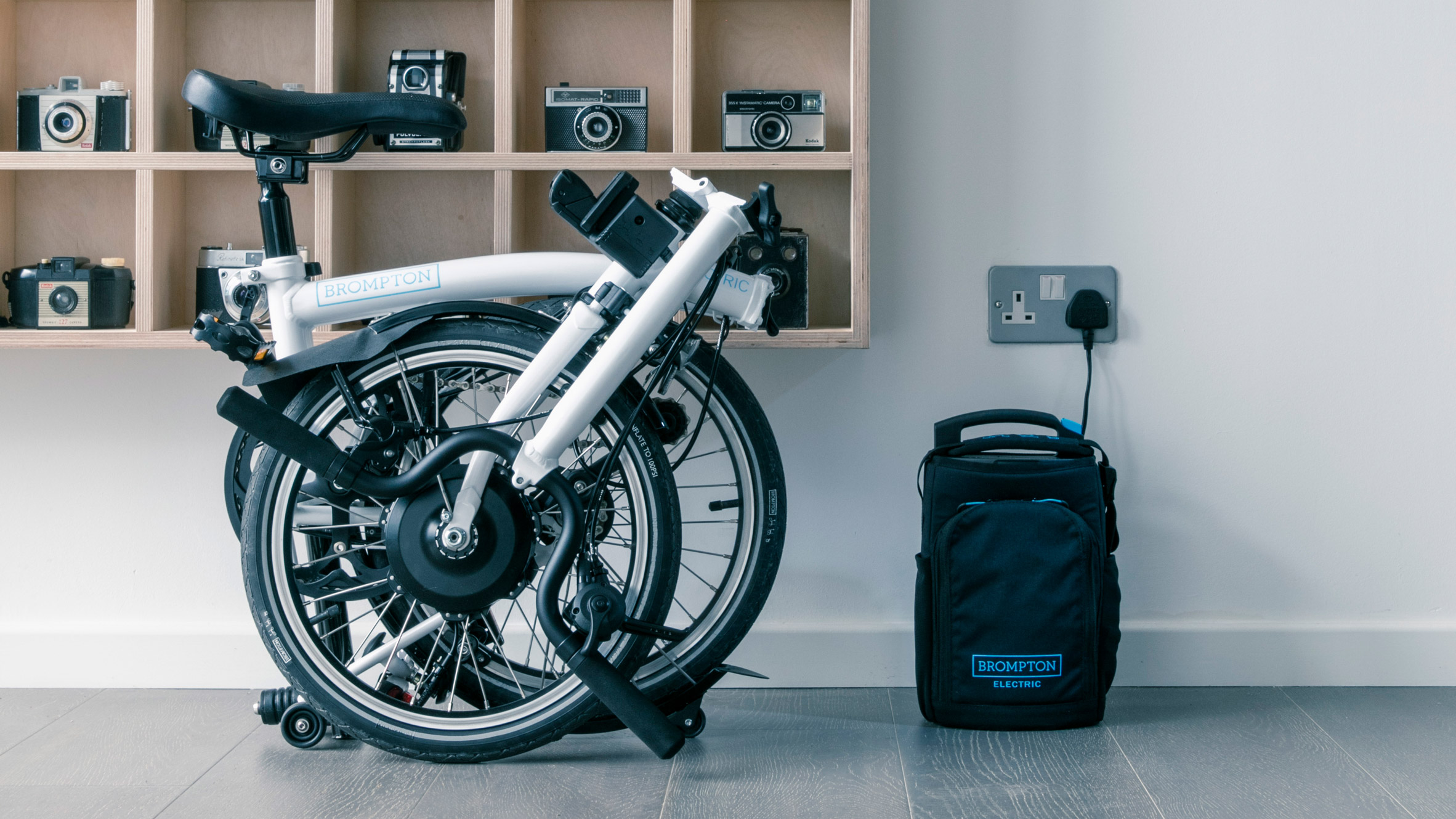 Brompton Bikes Brompton Launches First Battery Powered Version Of Its Folding Bike