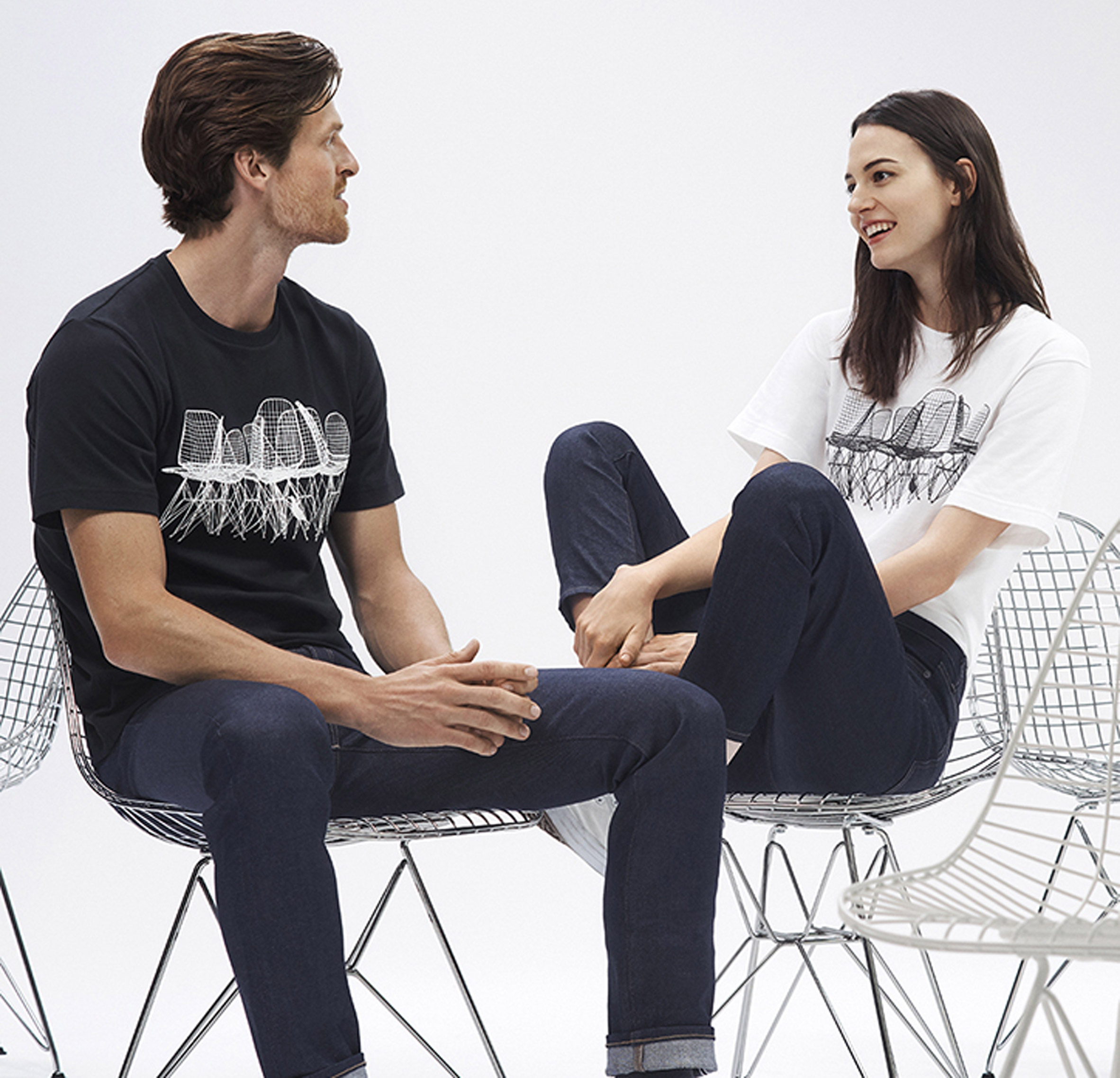 Ray And Charles Eames Uniqlo Launches Collection Celebrating Careers Of Ray And