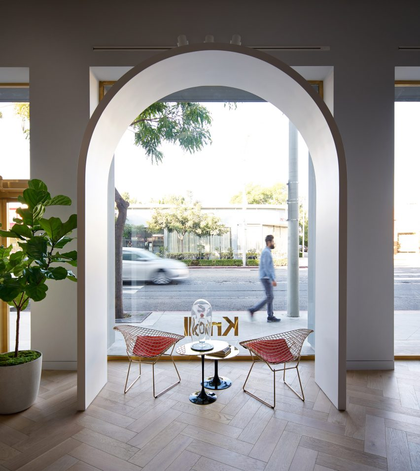Shop Home Knoll Opens La Store Based On Moroccan Castle By Johnston Marklee