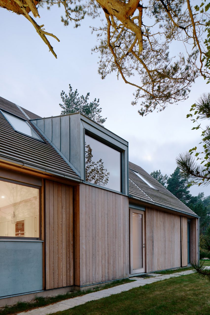 Sweden Houses Design Johan Sundberg Transforms Swedish Summer House With Larch Wood