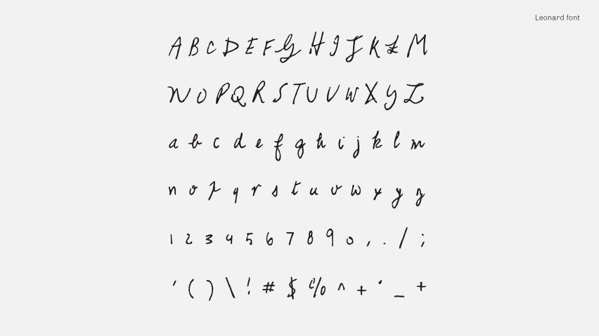 Kurt Cobain and David Bowie\u0027s handwriting feature in new typeface series