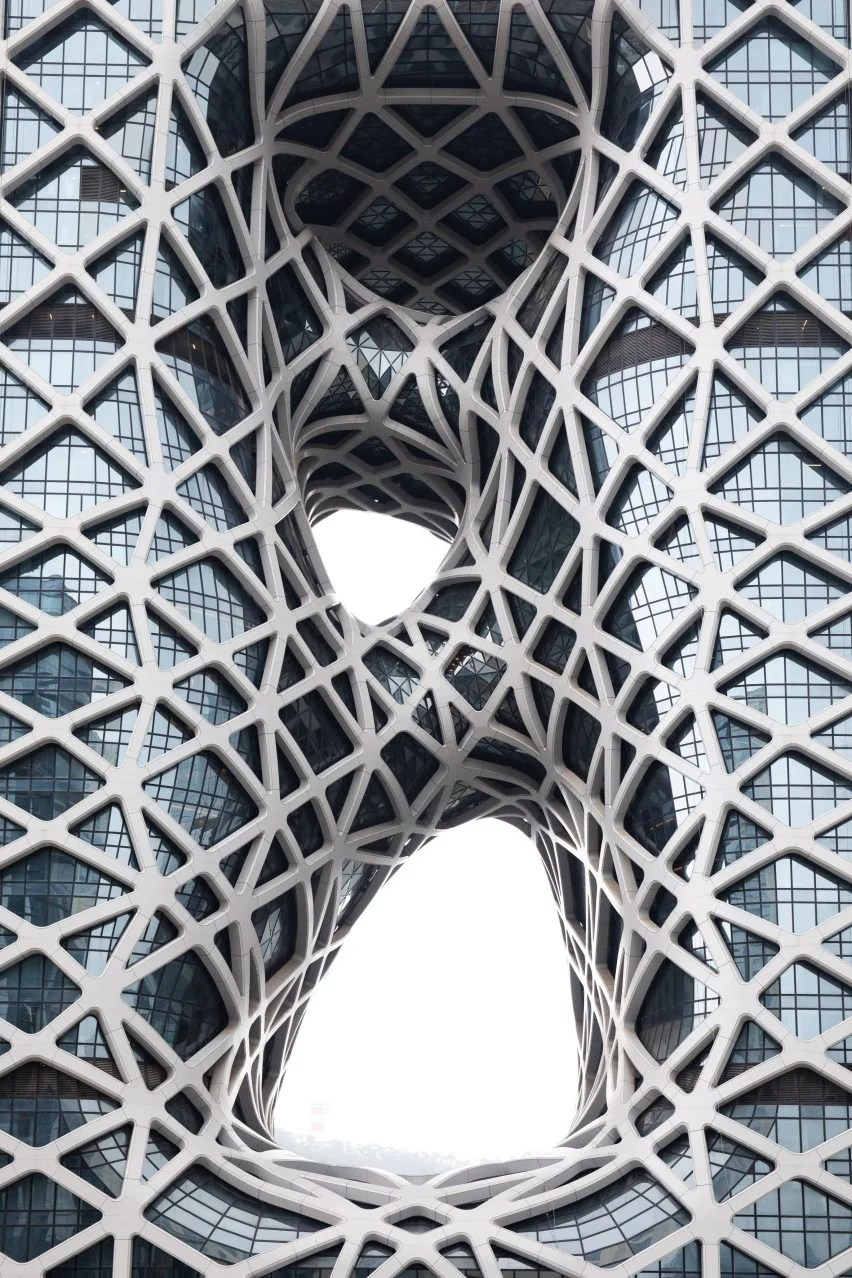 Desain Glass Block Zaha Hadid Architects Unveils Morpheus Hotel In Macau