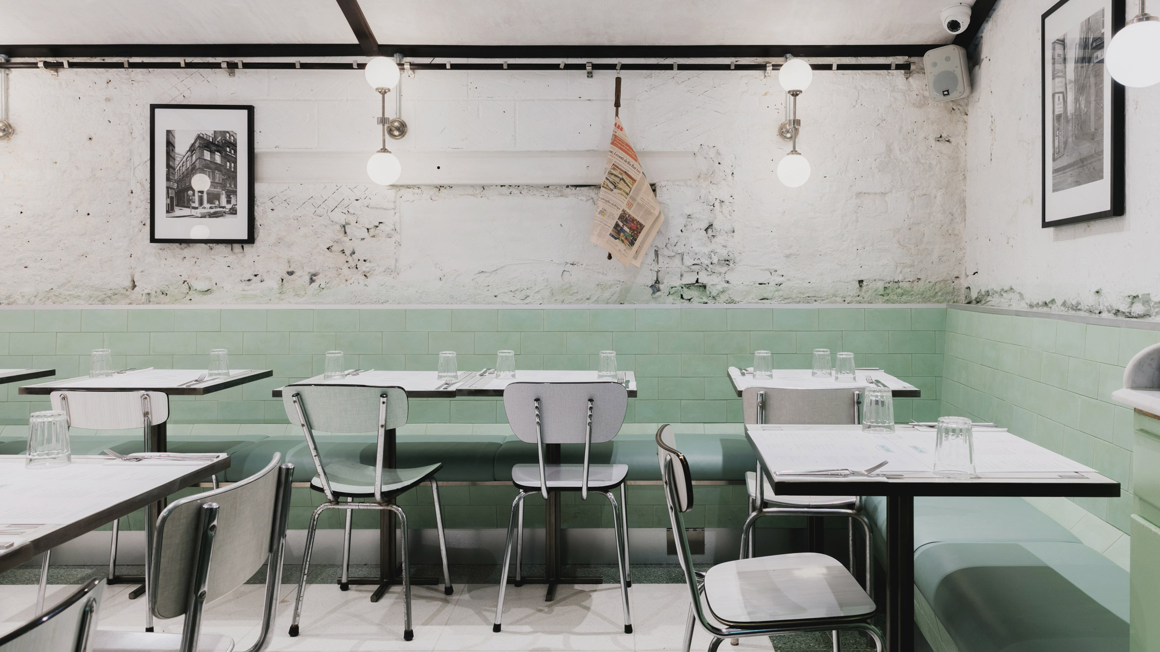 Resturant Stores Red Deer Creates Pastel Toned Restaurant For