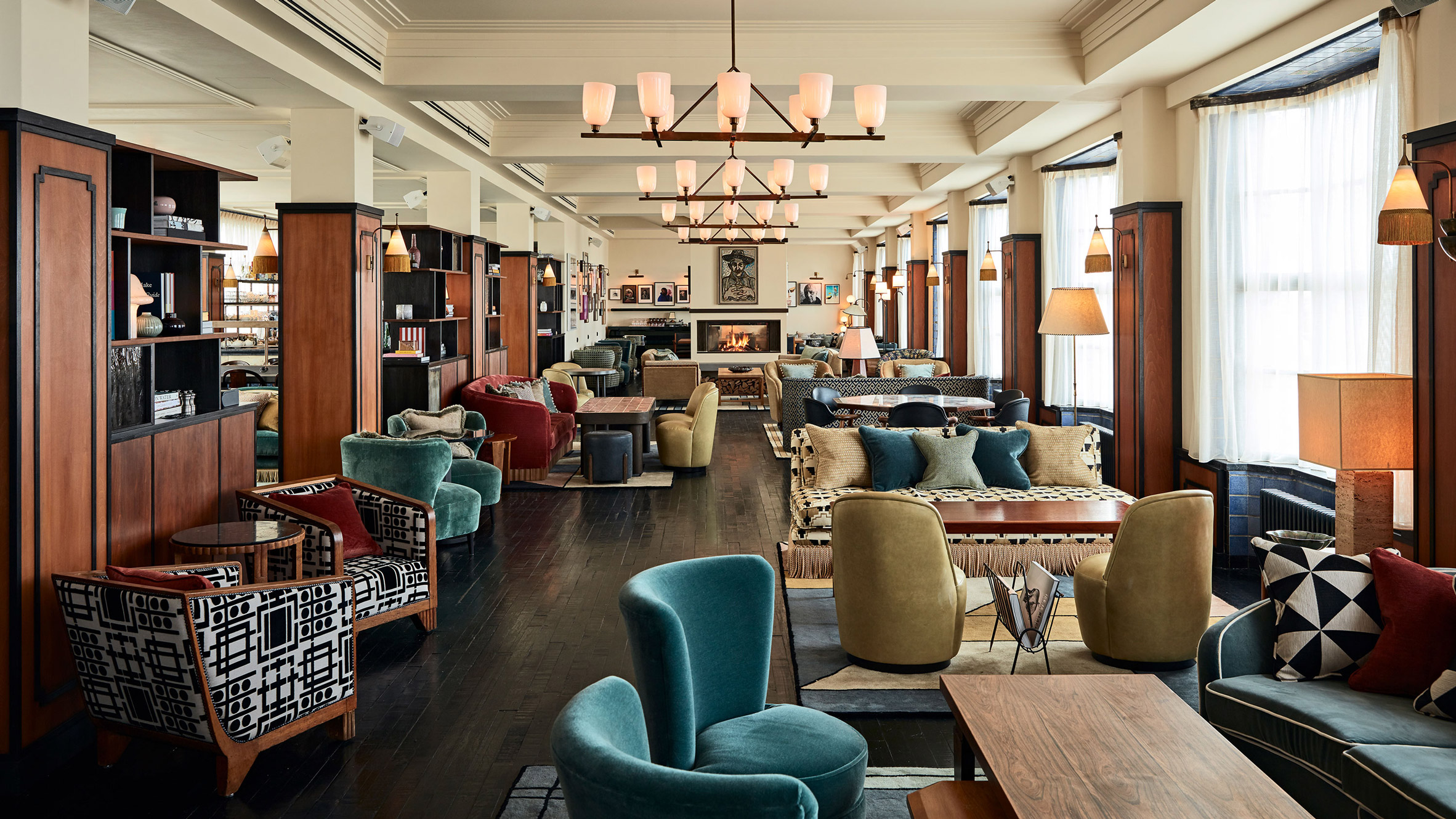 Amsterdam Interior Soho House Opens In Amsterdam With A Colour Palette Drawn From The