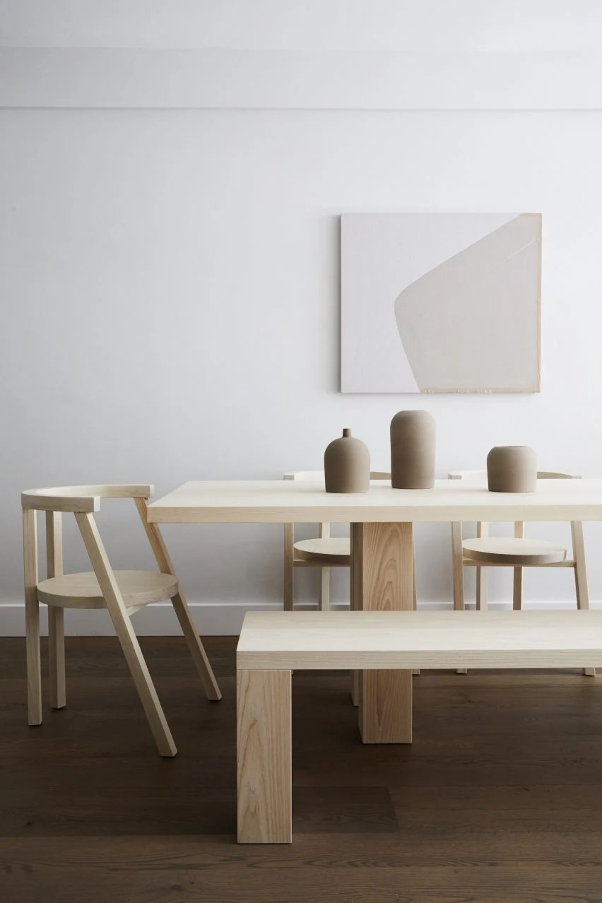 Minimalist Furniture Pure Minimalist Furniture Collection Takes Cues From The Hamptons