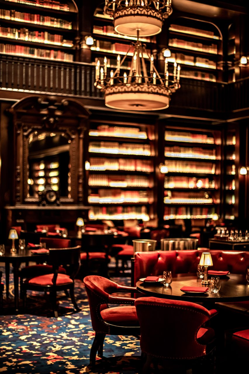 Nomad Restaurant Nomad Hotel S Third Outpost Redefines Opulence On The Las Vegas Strip