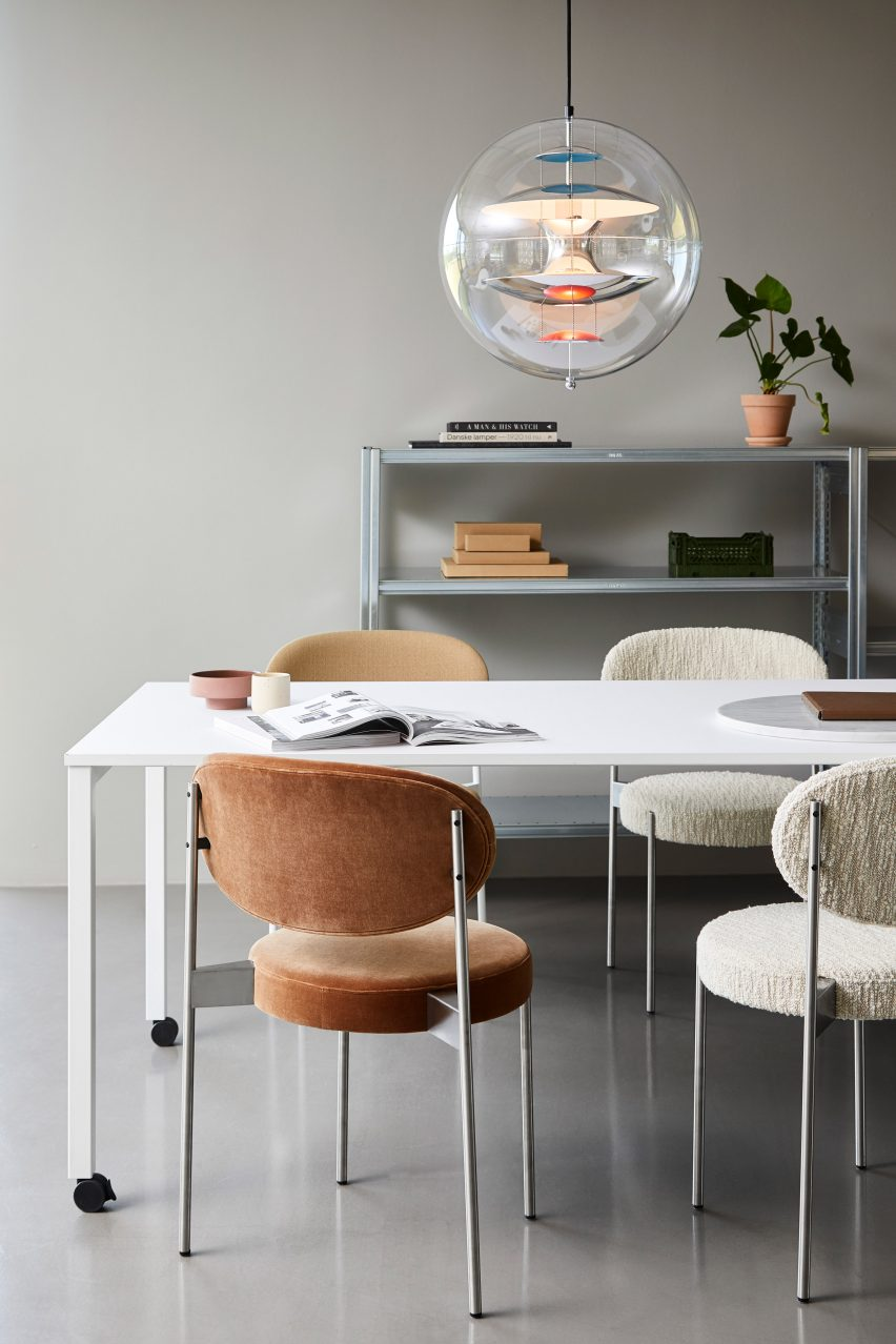 Verner Panton S Furniture Solves Challenges Of Working From Home
