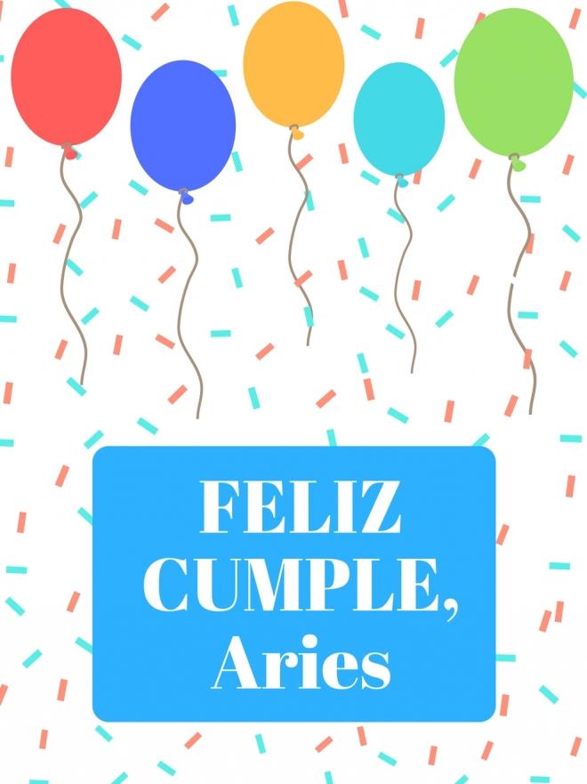 Las mejores tarjetas de felicitación para Aries ¡Feliz cumpleaños!