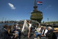 Schwimmen: Kanal-Catwalk in Amsterdam  DiePresse.com