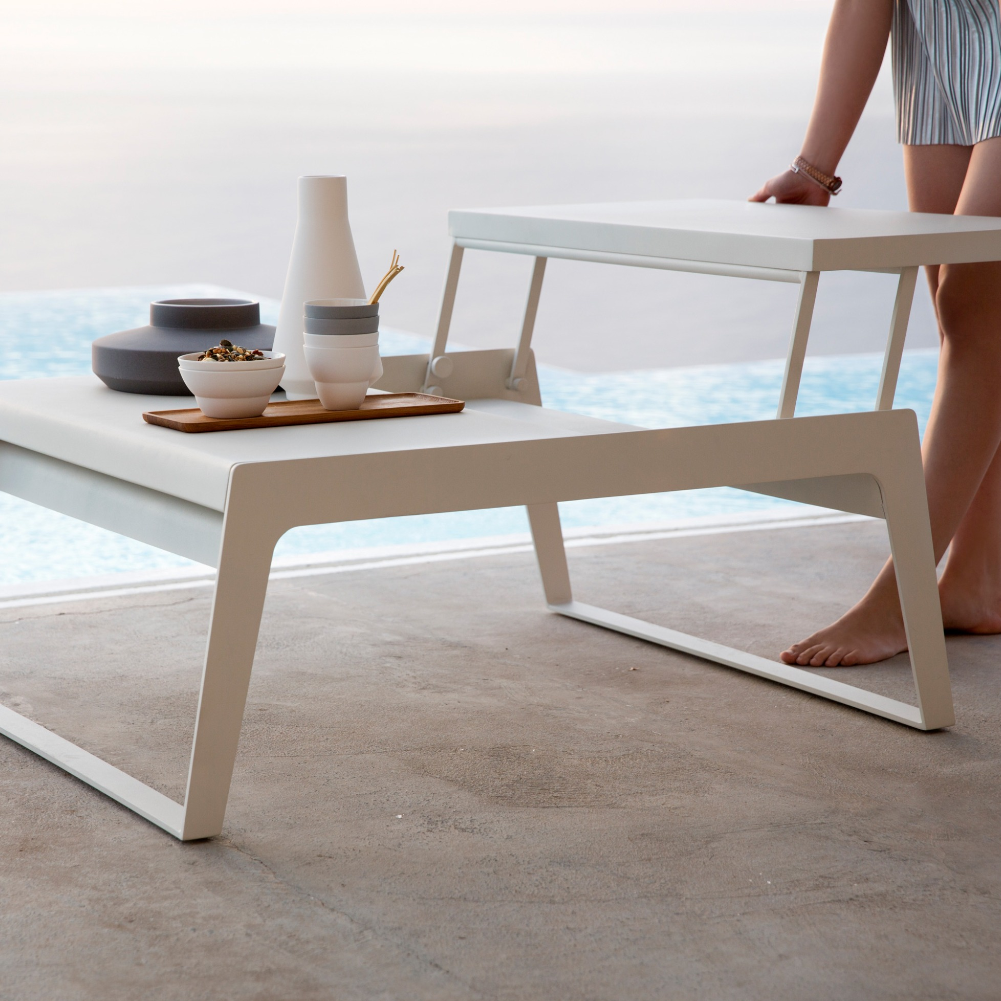Chill Out Möbel Chill Out Foldable Coffee Table By Cane Line