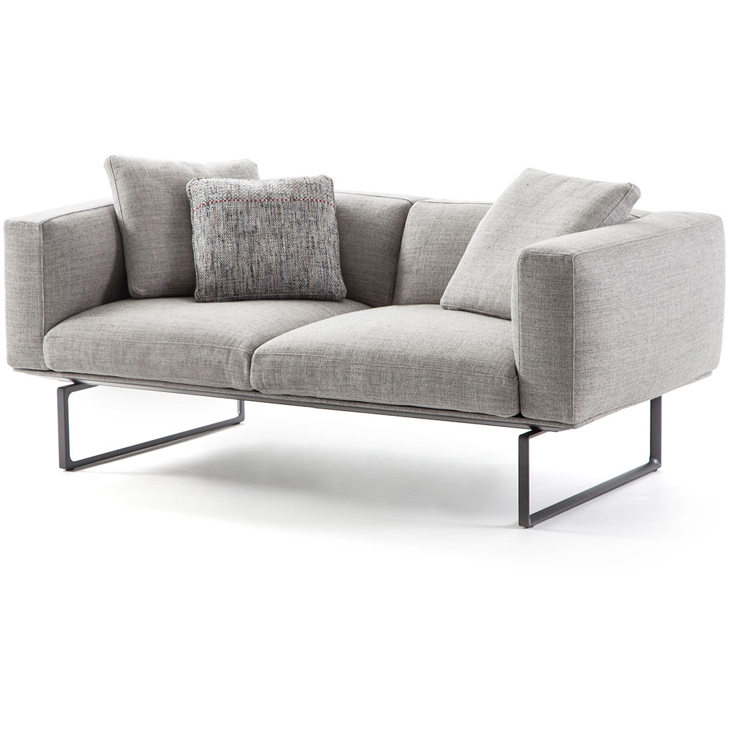 Lounge Sofa 2 Sitzer Outdoor 2 Seater Sofa 206 8 Cube By Cassina