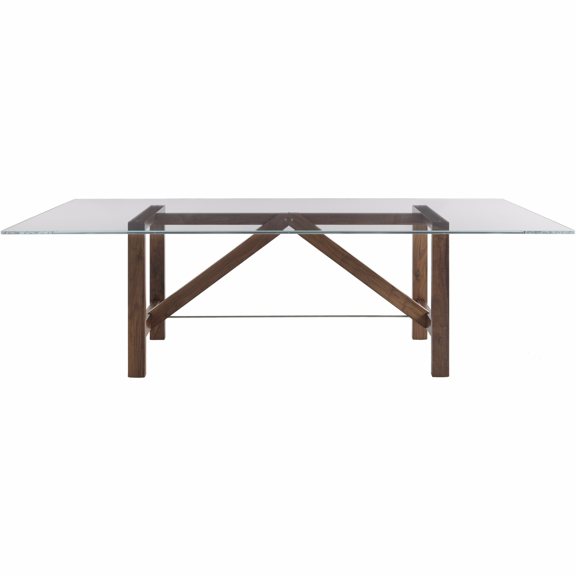 Glastisch Tempered Table Capriata Glass By Horm