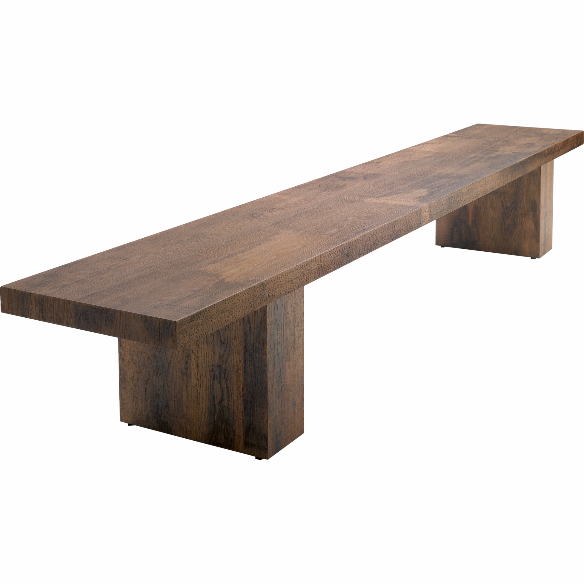 Holzbank Outdoor Bench Link 2 Wood By Mdf Italia