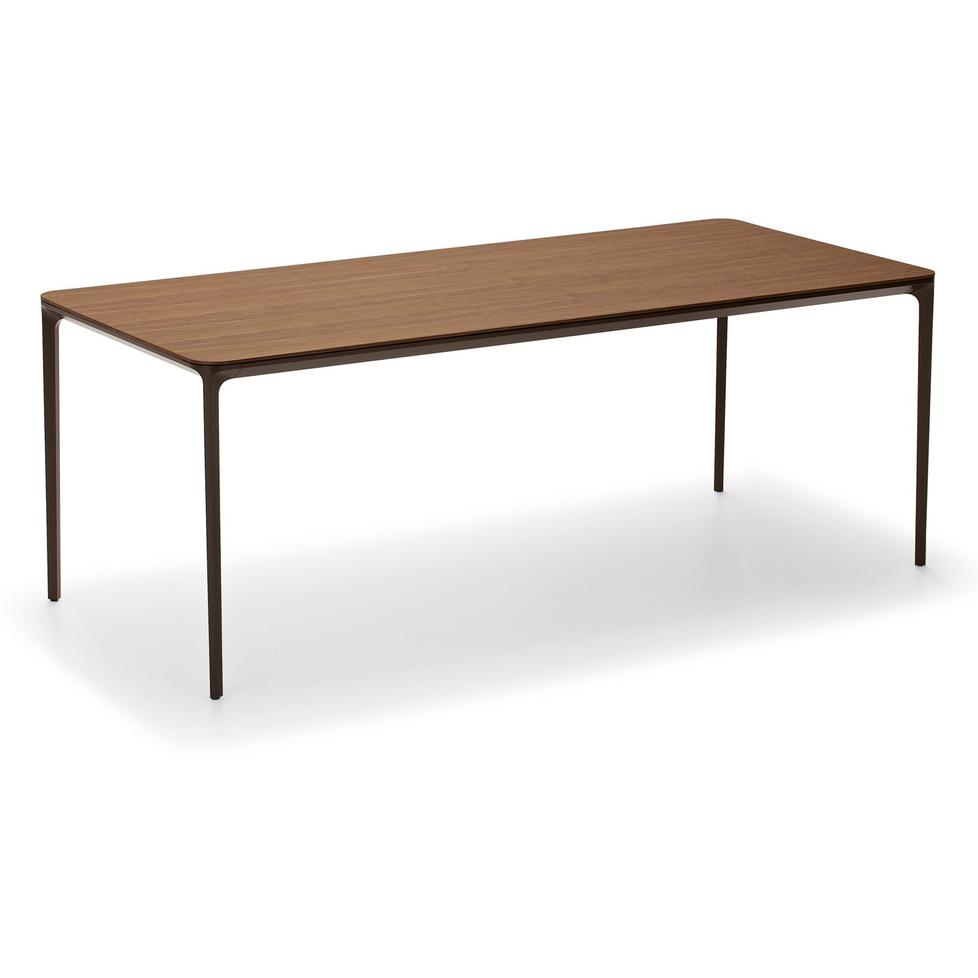 Hans Hansen Less Couchtisch Slim Wood Dining Table By Sovet Italia
