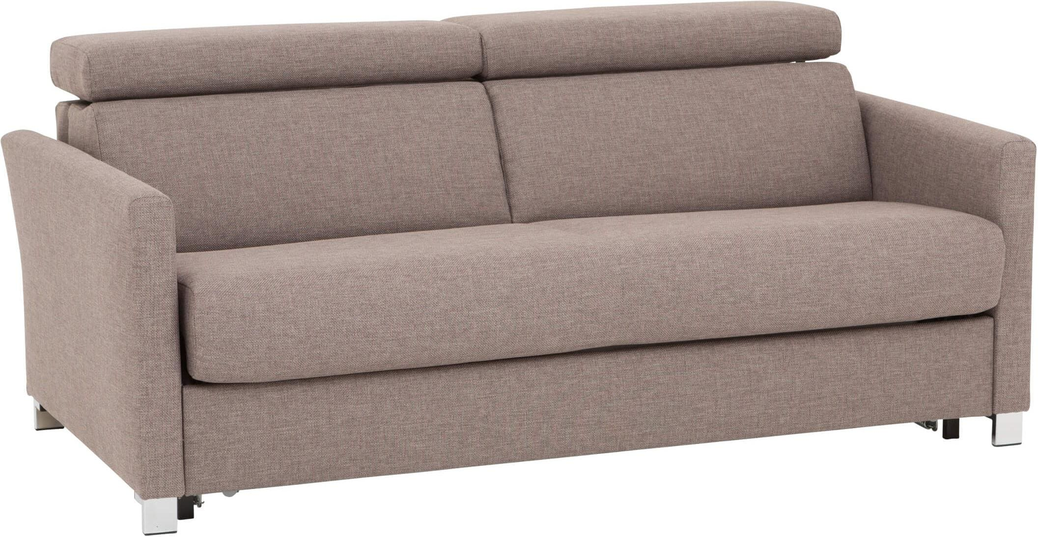 Bettsofa Schubiger Schubiger Möbel Selina Sofa Bed Brown Beige