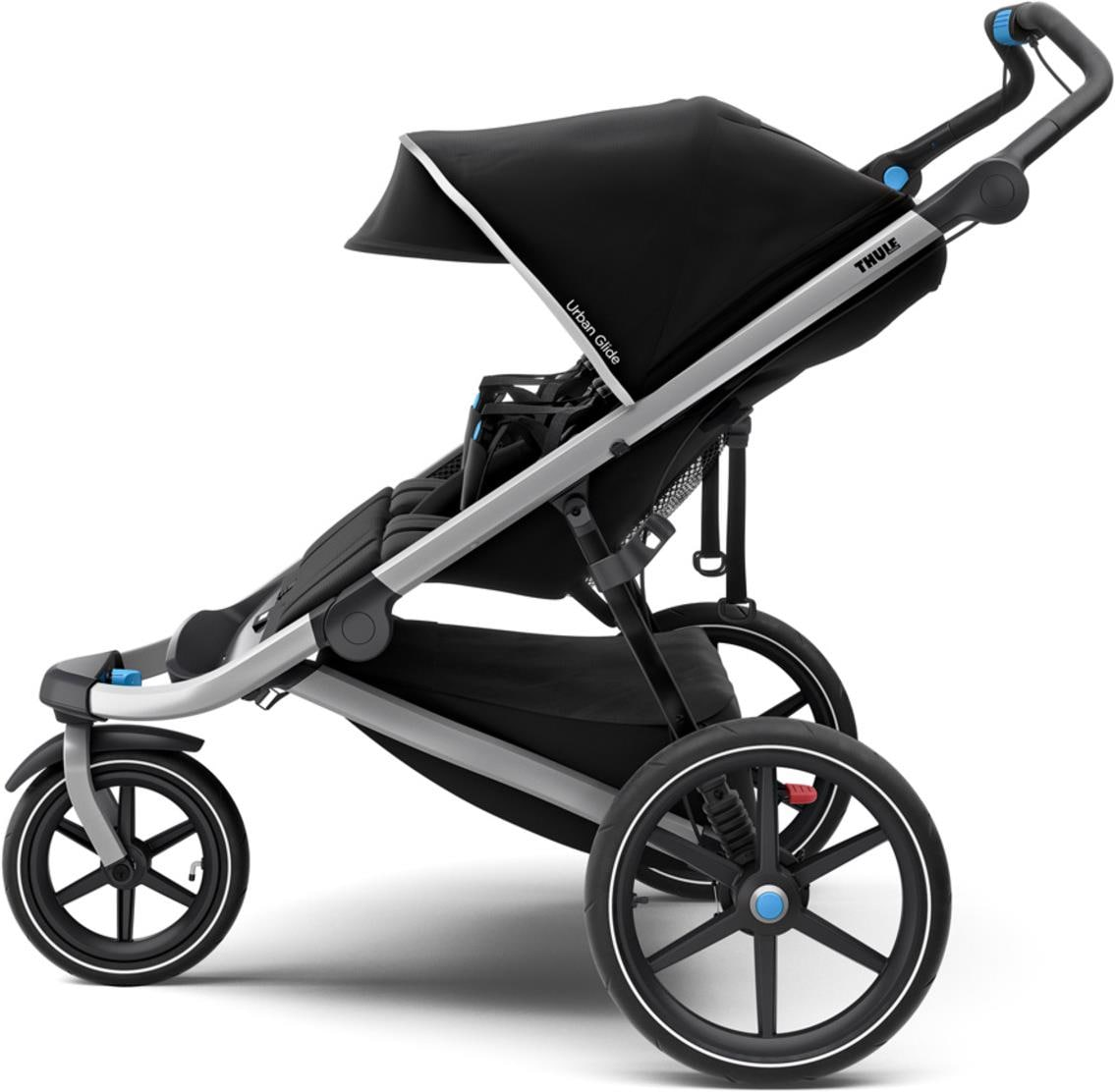 Doppel Kinderwagen Urban Jungle Urban Glide 2 Double Jet Black