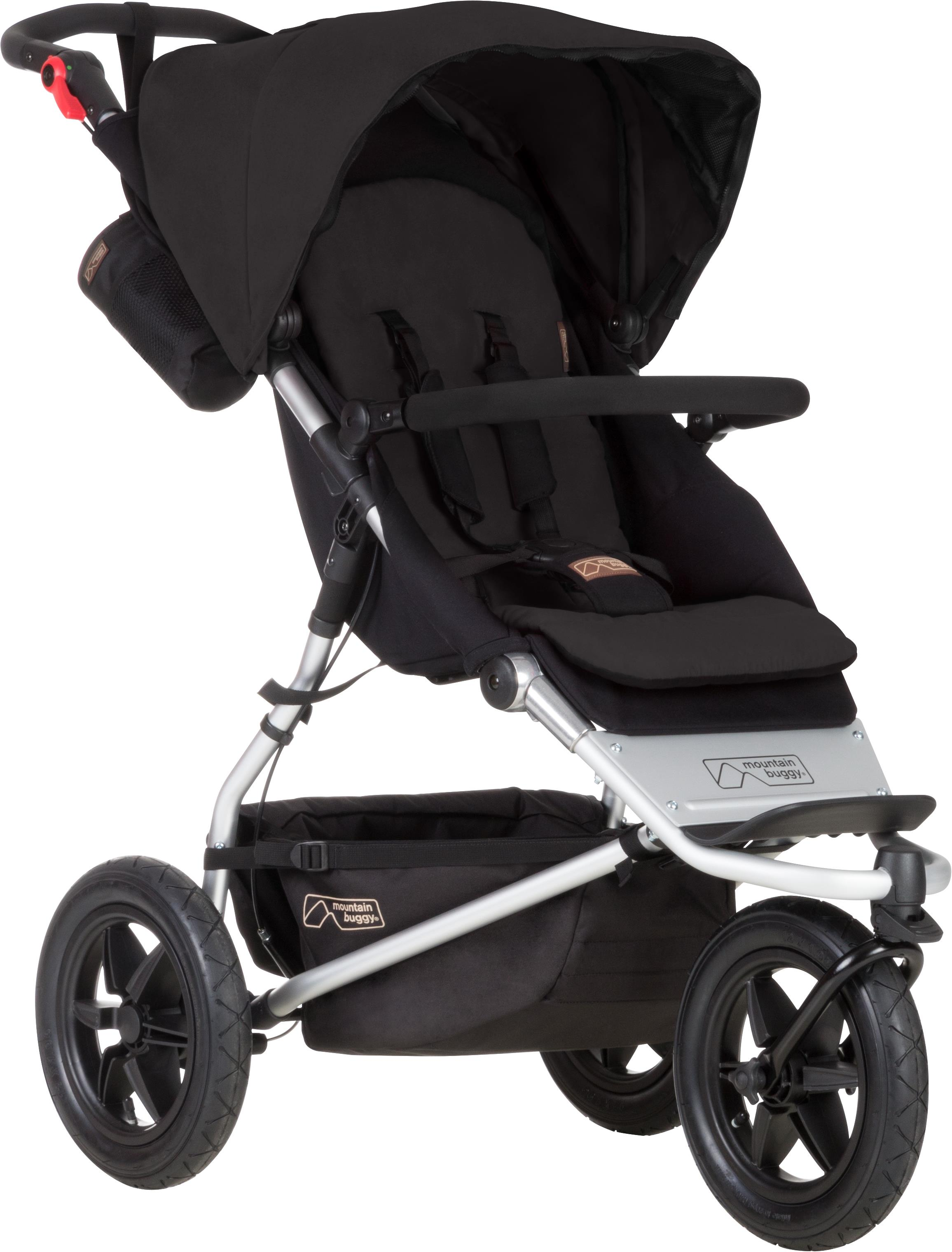 Doppel Kinderwagen Urban Jungle Urban Jungle 3 Black