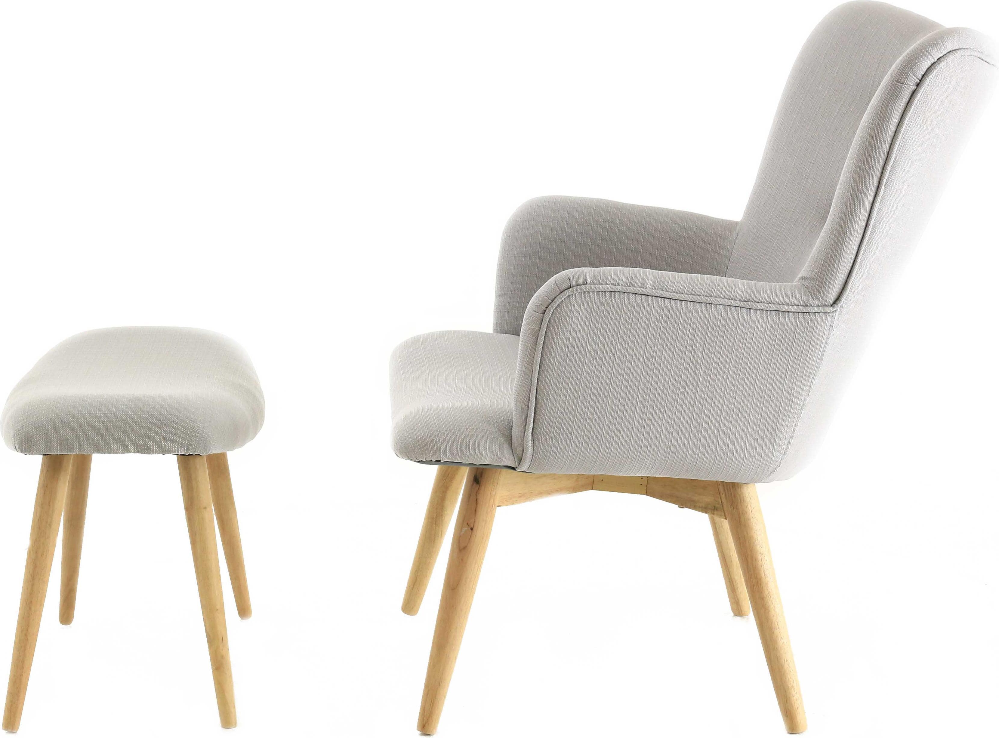 Management Sessel Pro Living Sessel Mit Hocker Stockholm Galaxus
