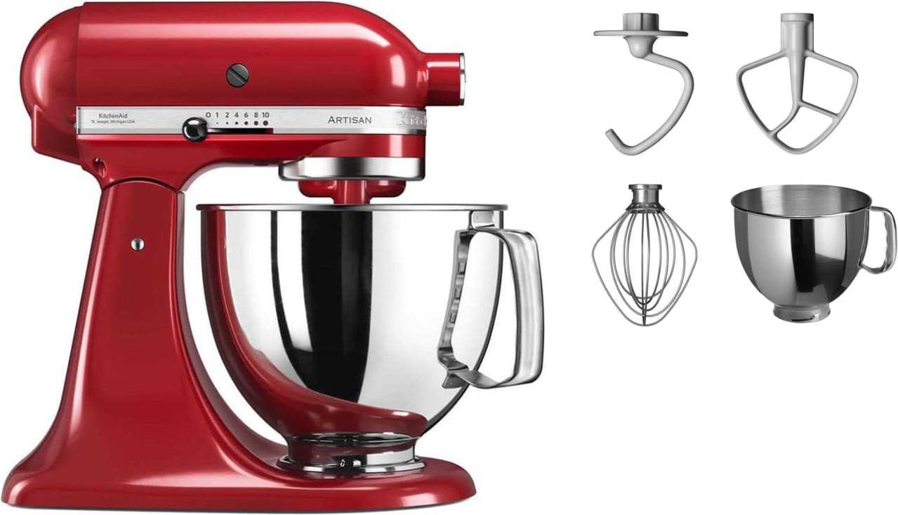Kitchenaid Küchenmaschine Video Artisan Ksm125 4 80l