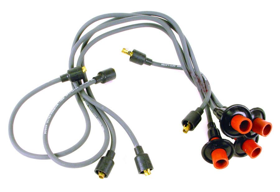 wire set grey Bug 50-79, ghia 56-74  bus 50-71 Bosch OEM Empi