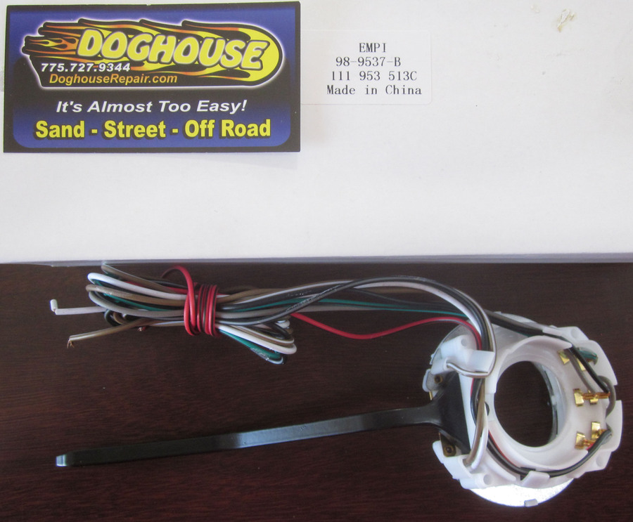 switch - turn signal bug  Ghia 71 only Empi - Doghouse Repair