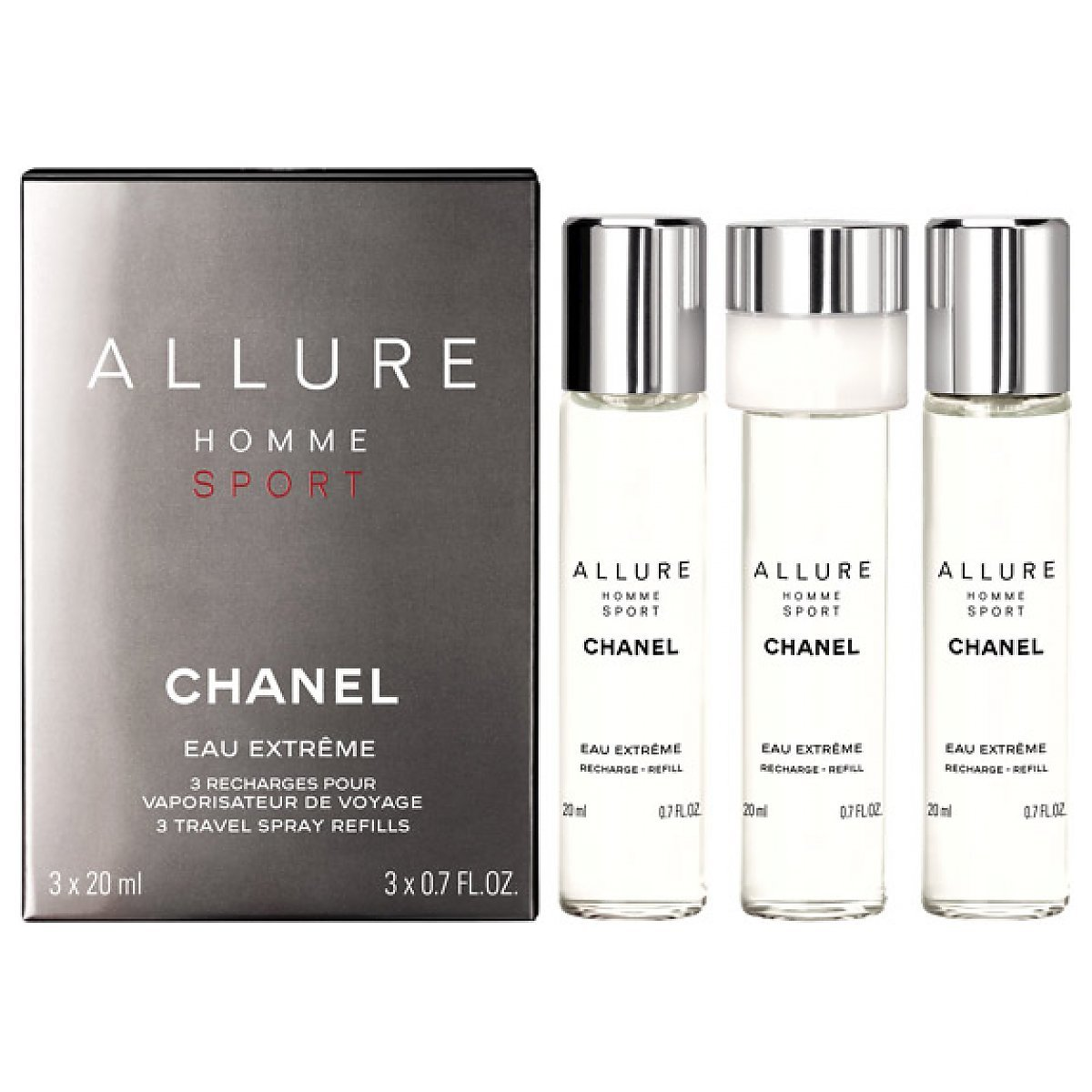 Allure Homme Sport Chanel Allure Homme Sport Eau Extreme Woda Perfumowana 3 X