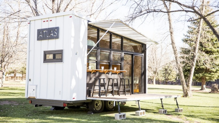 Atlas Home With Bar Is The Entertainer'S Answer To The Tiny House