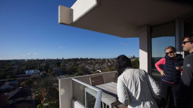 The wide open view was an attraction to buyers.