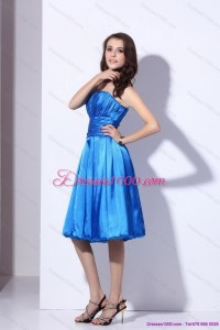 Popular Strapless 2015 Short Prom Dresses with Ruching ...