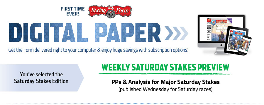 Saturday Paper Daily Racing Form