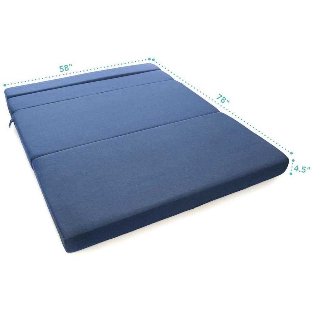 Foldable Foam Mattress Tri Fold Foam Folding Mattress Sofa Bed