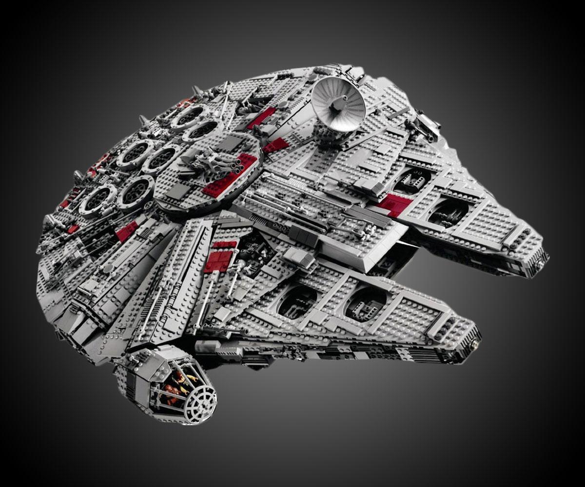 Lego Star Wars Millennium Falcon 2017 Dudeiwantthatcom