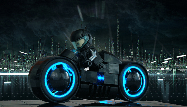 Black Panther Wallpaper Tron Lego Light Cycle Dudeiwantthat Com