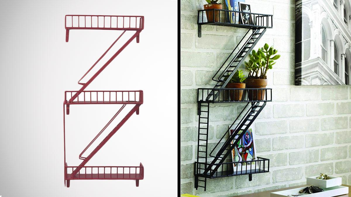 Fullsize Of Fire Escape Shelf