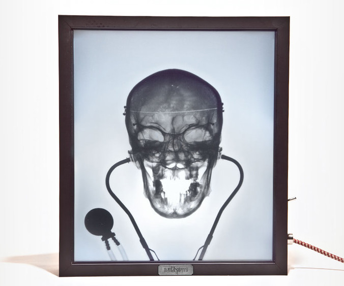 Metal Decor X-ray Lightboxes | Dudeiwantthat.com