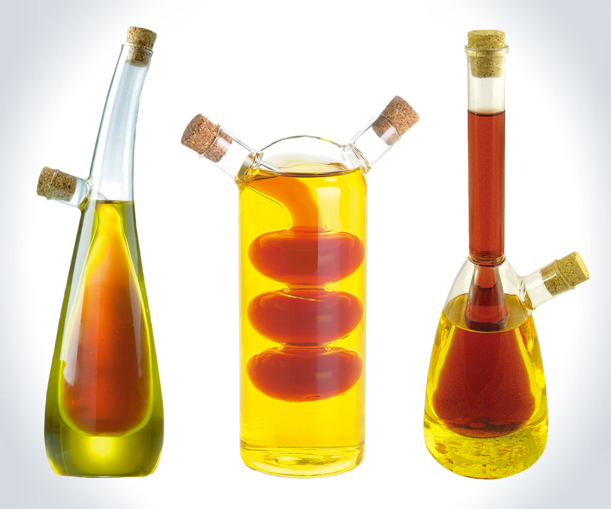 Oil And Vinegar Science Lab Oil And Vinegar Bottles Dudeiwantthat