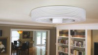 Exhale Bladeless Ceiling Fan | DudeIWantThat.com