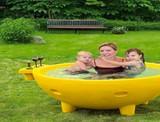 ALFI Wood-Burning Hot Tub | DudeIWantThat.com