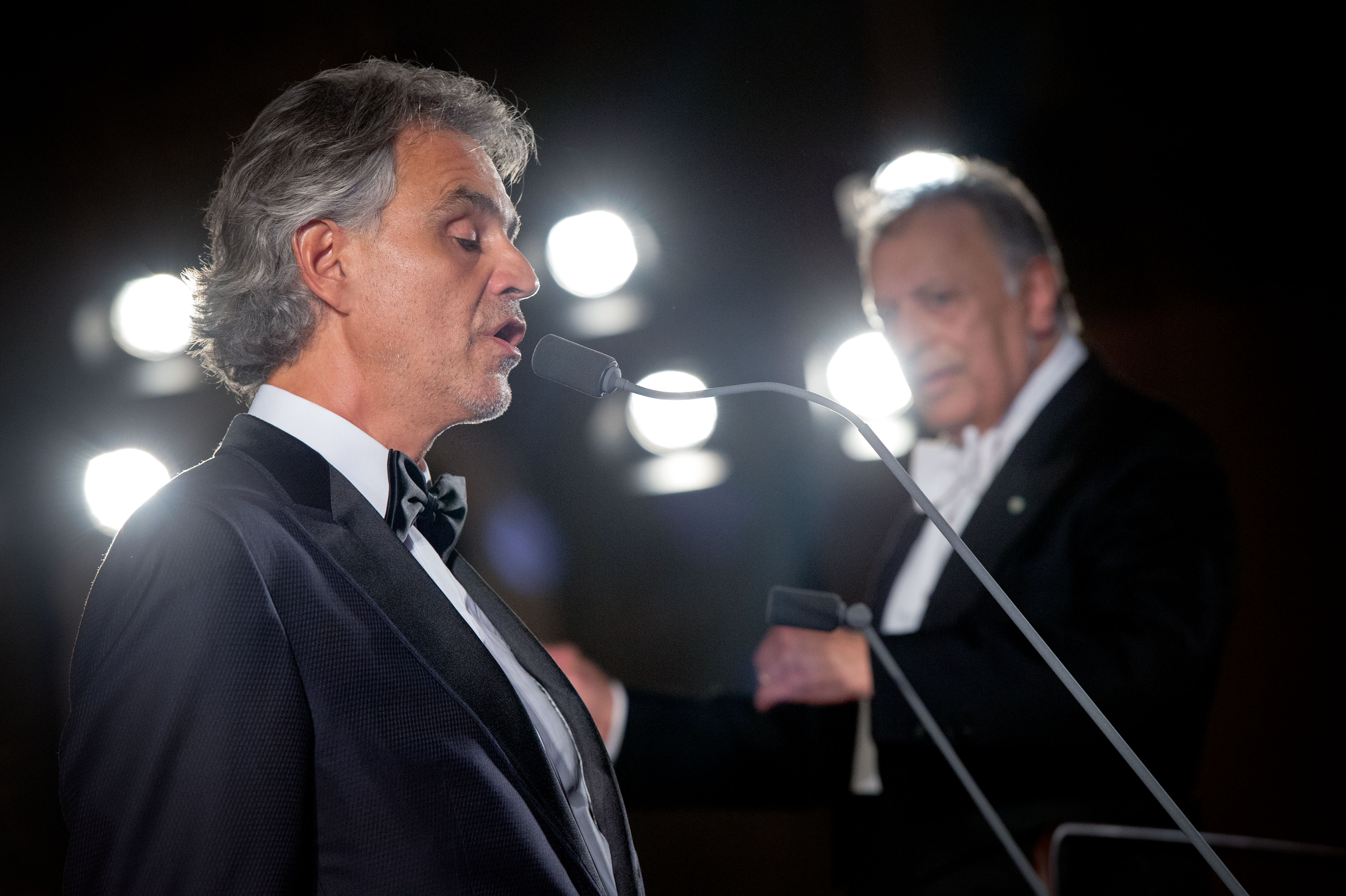 Bibi Busenblitzer Roter Teppich Ebay Auktion Celebrity Fight Night Mit Andrea Bocelli