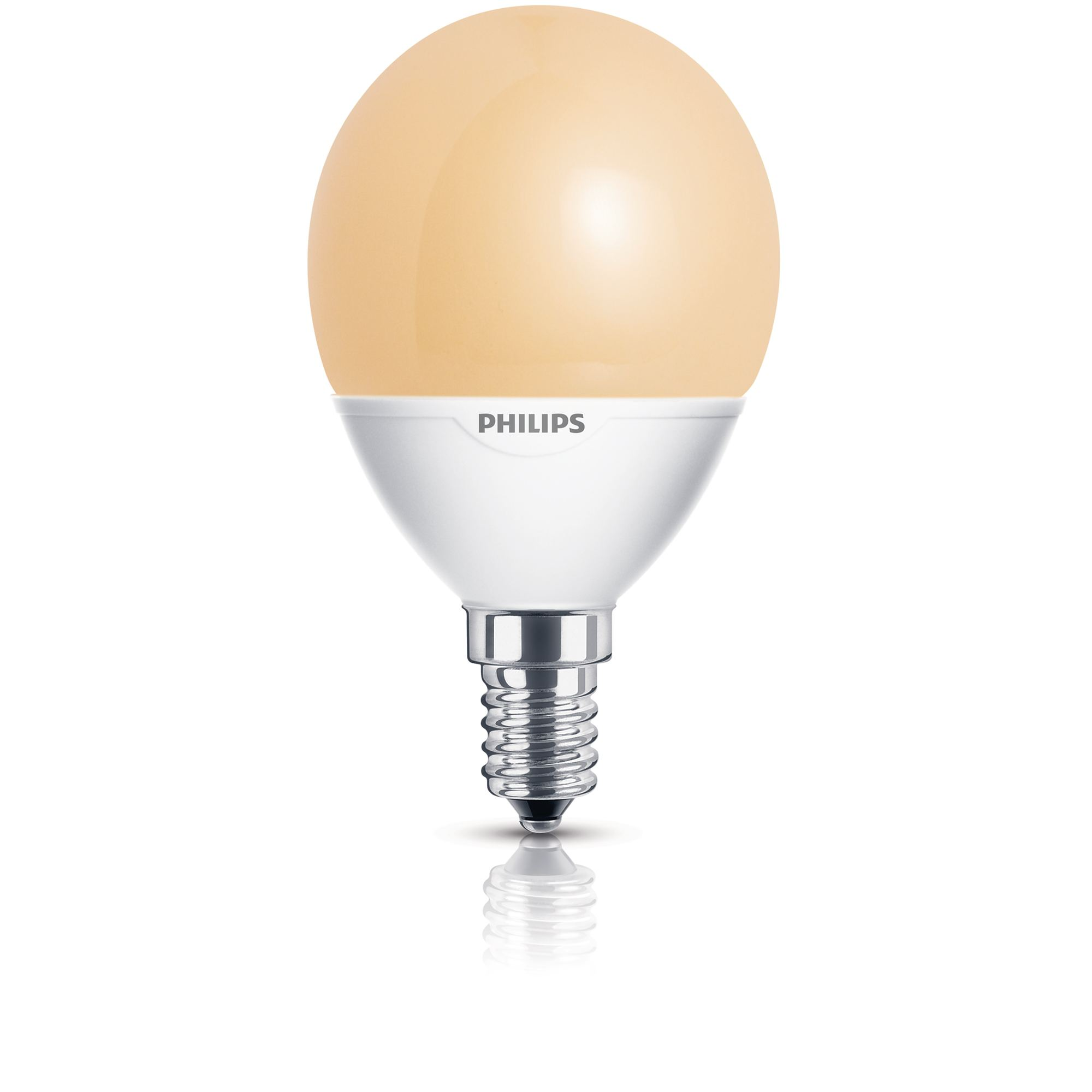 Philips Softone Flame Philips Spaarlamp Kogel 7w 27w E14 Fitting Flame Kopen