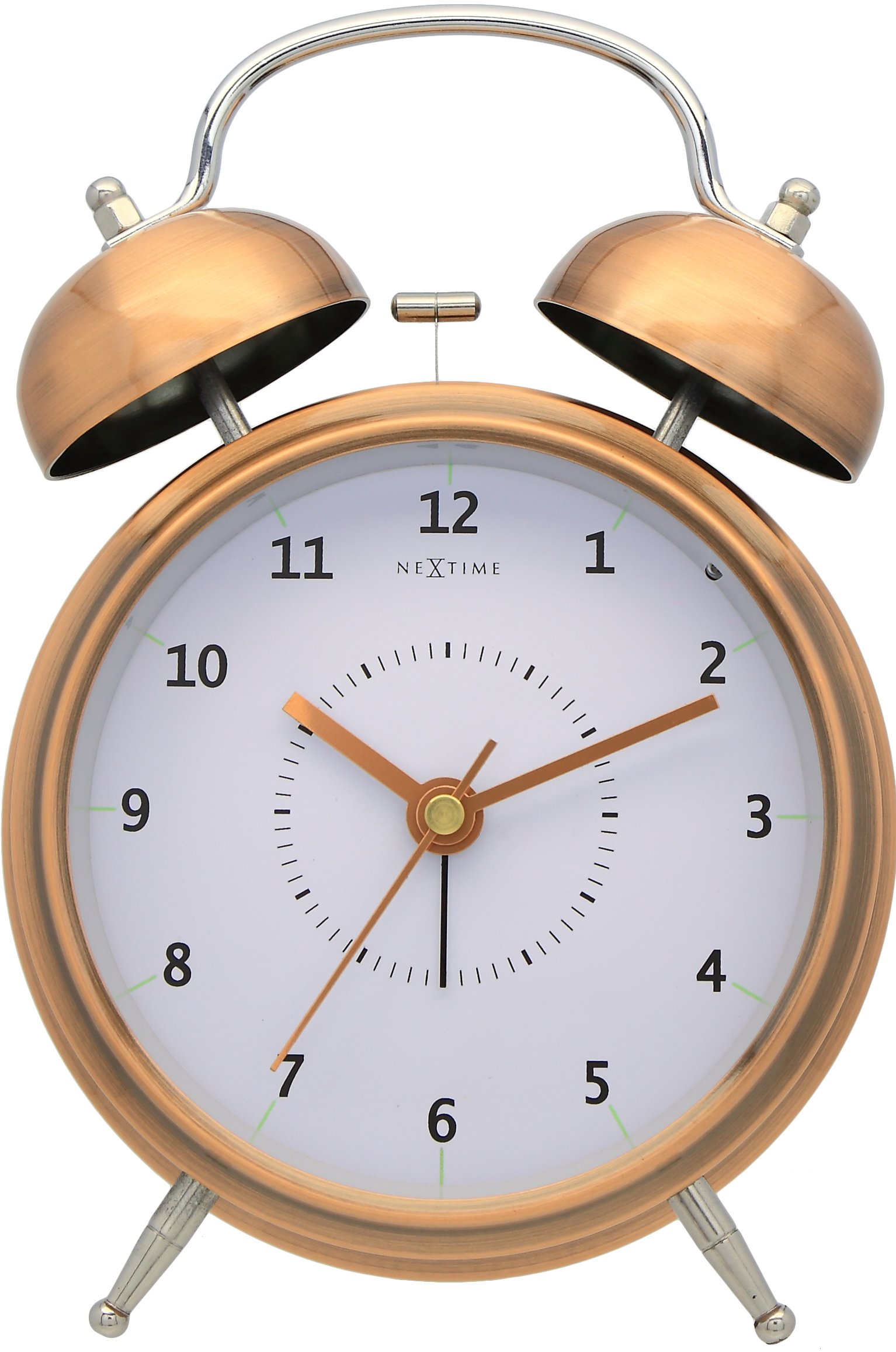 Nextime Koper Nextime Wake Up Alarm Clock Copper On Checkfrank Co Uk Frank
