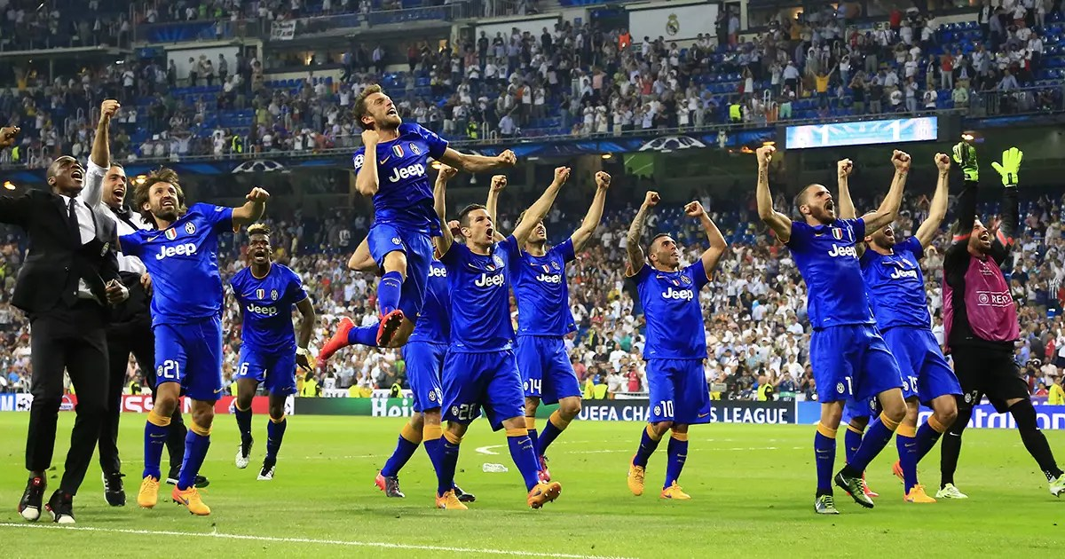 Juventus Barcelona Champions League Final