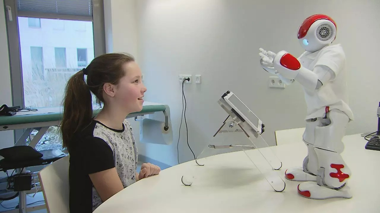 Children Robot Robots Interact With Children To Help With Their Diabetes