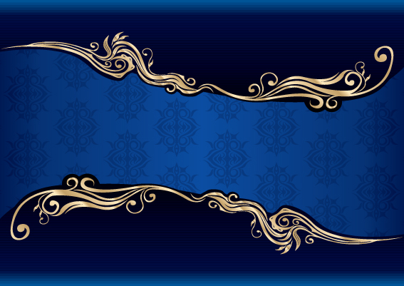 Shiny black and blue vector backgrounds 02 for Free Download Free